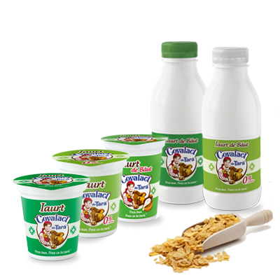 Plain yoghurt Covalact de Ţară