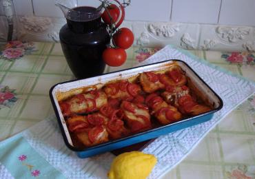 Peste la cuptor cu legume