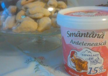 Cornulete cu marmelada