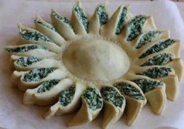 Coroniţă cu spanac şi brânză