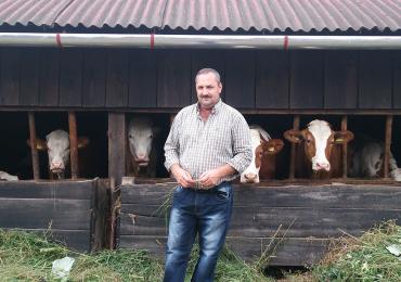 Oameni muncitori, oameni primitori: Gheorghe Costea și familia sa