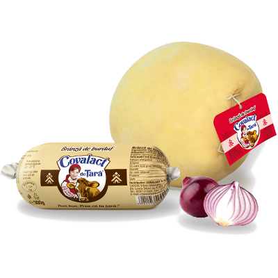 Burduf cheese (natural membrane) Covalact de Țară