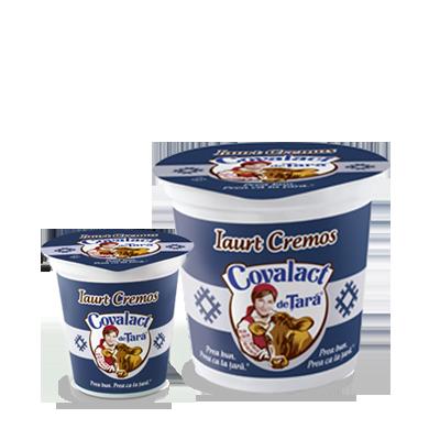 Creamy yoghurt Covalact de Ţară