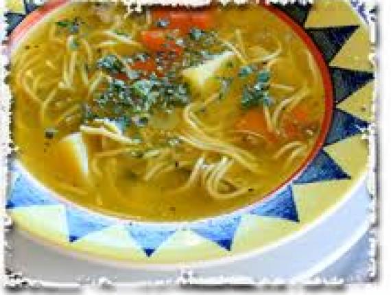 Parasztos nyúl leves