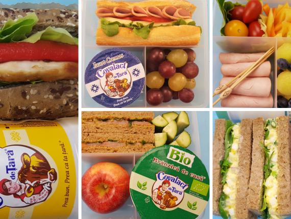 5 idei de pachetel pentru scoala cu lactate Covalact de Tara -  Sandwich cu piept de pui.