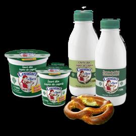 Specialităţi cu lapte de capră Covalact de Ţară
